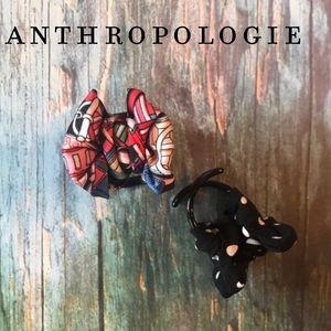 Anthropologie Pippa Claw Hair Clip Set